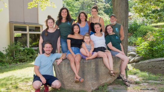Group photo of camp leadership team